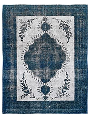 Kalaty One-of-a-Kind Pak Vintage Rug, Gray/Blue, 9' 8