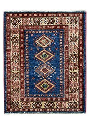 Kalaty One-of-a-Kind Kazak Rug, Blue, 2' x 2' 9