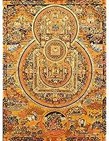 Exotic India Mandalas of the Buddha - Tibetan Thangka Painting