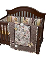 Cotton Tale Designs 4 Piece Penny Lane Crib Bedding Set