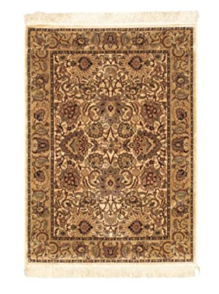 Persian Traditional Rug, Beige, 3' 3