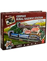 3 D Puzzle German Train Station (Difficulty: 8/8)