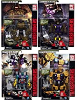 Transformers Generations Combiner Wars Brawl, Blast Off, Vortex & Swindle Deluxe Action Figure