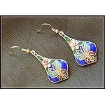 Cloisonne Earrings 16