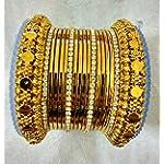 Gold Metal Gold Plated Fashion Bangle