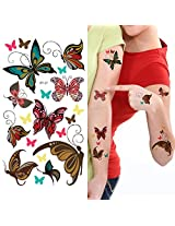 Supperb Temporary Tattoos Cute Butterfly Tattoos