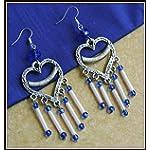 [E16L_020] Pink heart earrings