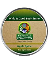 Defiance Cosmetics Whip It Good Body Butter - Apple Spice - 8 oz