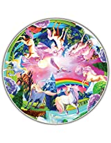 Round Table Puzzle - Kids' Edition - Unicorn Bliss (50 Piece)