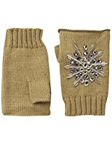 San Diego Hat Company Women's Fingerless Gloves with Faux Gems