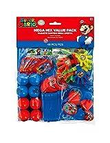 Super Mario Mega Mix Value Pack 48 Pieces Party Favors