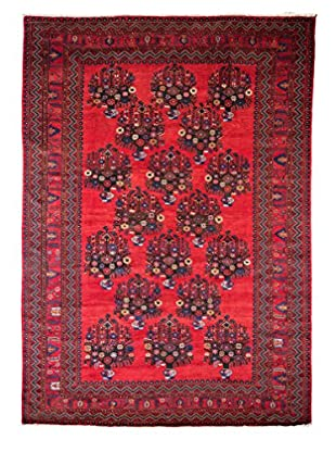 Tribal Collection Oriental Rug, Red, 7' 1