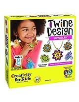 Creativity for Kids Twine Design String Art Jewelry Kit