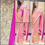 Baby Pink saree