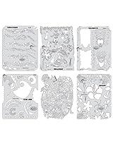 Artool Freehand Airbrush Templates, Tikki Master Set