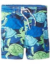 Osh Kosh Baby Boys' Turtle Trunks, Navy, 12 Months