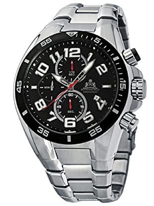 Rothenschild Armbanduhr Cruiser Edelstahl/Silber/Schwarz