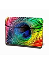 Theskinmantra Feathered Colours Hydraflex Universal size Laptop Sleeve 15.6 inches