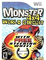 Monster 4X4: World Circuit (with wheel) - Nintendo Wii