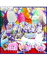 Funcart Riding Princess Theme Combo (Pack of 90 Pcs.)