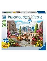Ravensburger Rooftop Garden Large Format Puzzle (500 Piece)