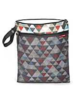 Skip Hop Grab and Go Wet/Dry Bag, Triangles