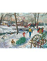 Pine Creek Mills A 1000 Piece Jigsaw Puzzle By Sunsout