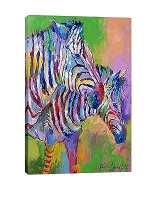 Zebra by Richard Wallich Giclée on Canvas