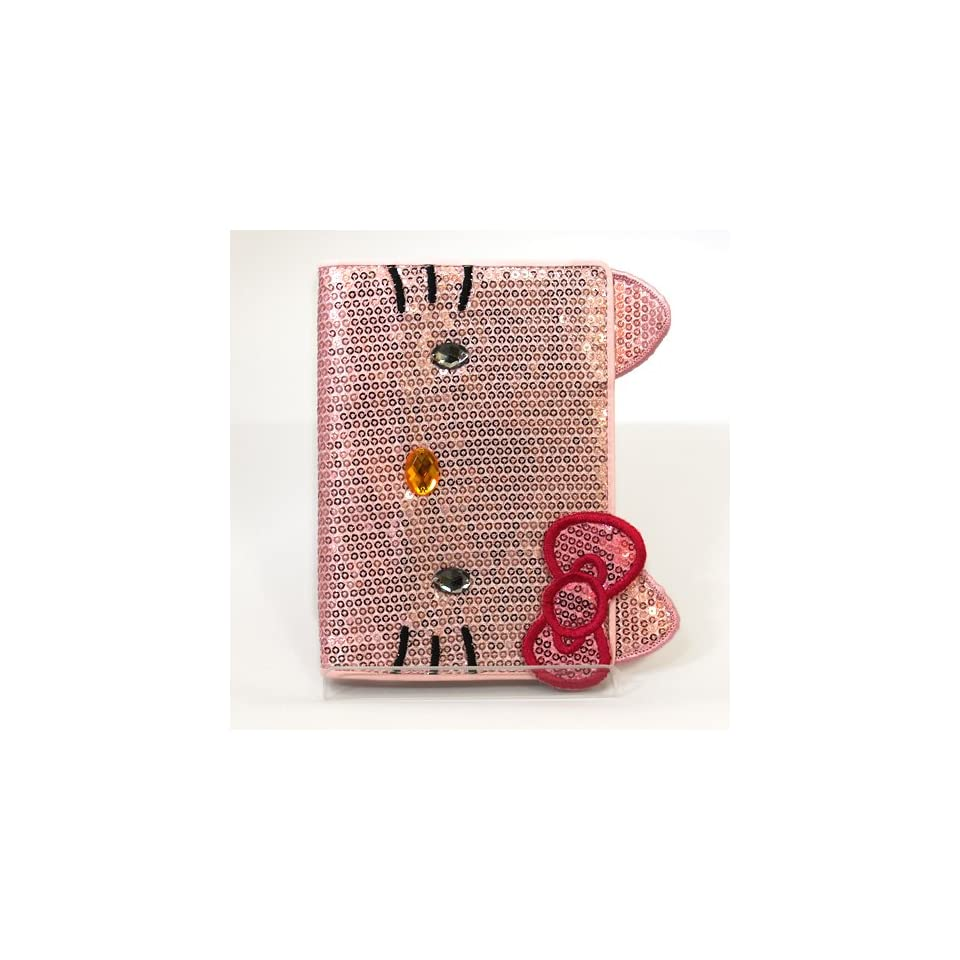 Sanrio Hello Kitty 2012 A6 Daily Planner Schedule Book Spangly Pink