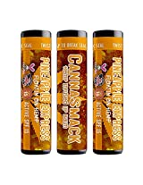 Canna Smack Pineapple Express Spf 15 Hemp Lip Balm Set Of 3 Pineapple Flavor