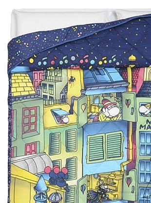 Cartoons Home Trapunta Mordillo Notte Magica (azzurro)