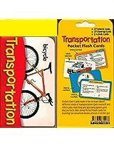 Pocket Flash Cards-Transportation