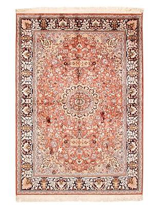 Roubini Srinagar Silk Fine Rug, Multi, 5' 11