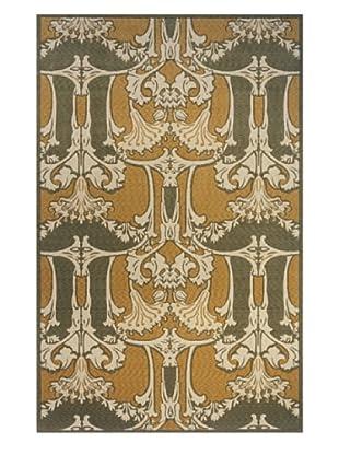 Momeni Art Nouveau Collection Rug (Sage)