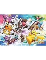 Ensky Pokemon XY Art Crystal Rainbow Clouds Jigsaw Puzzle (300-Piece), Large