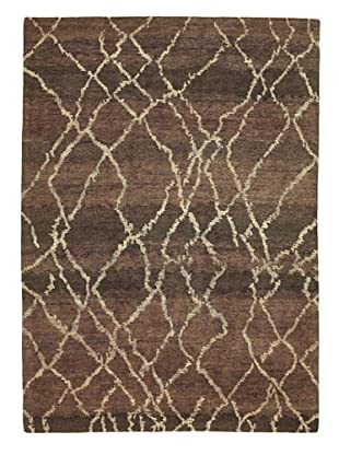nuLOOM Sketch Rug (Chocolate)