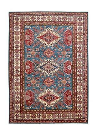 Kalaty One-of-a-Kind Kazak Rug, Blue;