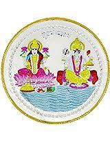 LGW Goddess Lakshmi Lord Ganesha Silver Precious Coin for Unisex (20Grams)
