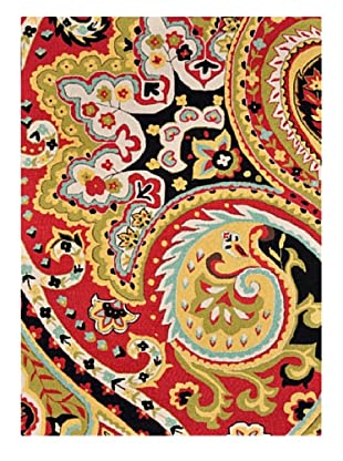Loloi Rugs Francesca Rug (Red/Black)