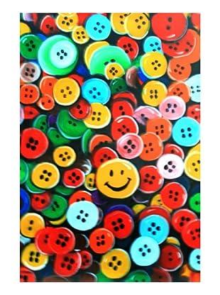 LegendArte Pintura al Óleo sobre Linezo Smile J 60X90