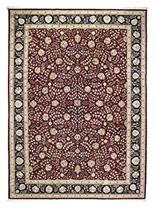 Bashian Rugs One-of-a-Kind Hand Knotted Wool/Silk Rug, Red, 10' 9