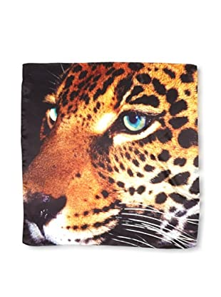 CHIC Women's Jaguar Digital Square Silk Scarf, Multi, One Size