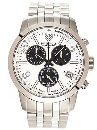 Swiss Eagle Reloj Field Major blanco