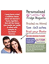 MFM TOYS 'I may have Cried...' 6x3 inch Photo Fridge Magnet - Valentines Gift Special FREE GIFT WRAP & CUSTOM LABEL!