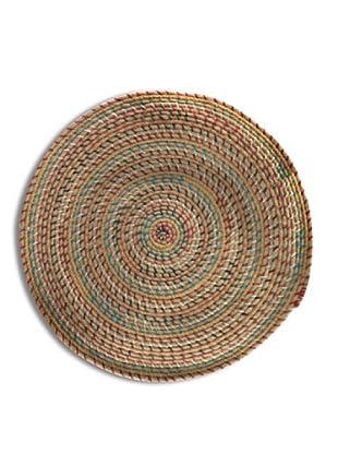 SIGNES DECORA Alfombra Mandala Multicolor 68X68
