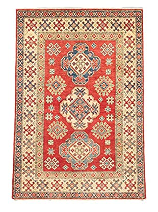 eCarpet Gallery One-of-a-Kind Hand-Knotted Gazni Rug, Red, 4' 10