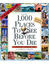 1,000 Places to See Before You Die Picture-A-Day Wall Calendar 2016 (2016 Calendar)