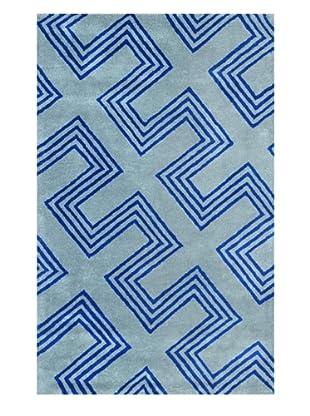 Shine by S.H.O. Maze Rug (Cobalt Blue)