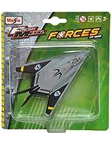 Maisto F-117 Nighthawk Aeroplane Die Cast Toy Model (Grey)