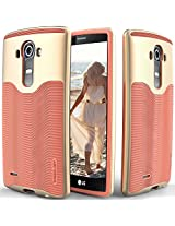 LG G4 case Caseology [Wavelength Series] [Coral Pink] Textured Pattern Grip Cover [Shock Proof] LG G4 case